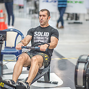 Claude Therond  MALE HEAVYWEIGHT Masters C 1K Race #9  11:15am<br /> <br /> <br /> www.rowingcelebration.com Competing on Concept 2 ergometers at the 2018 NZ Indoor Rowing Championships. Avanti Drome, Cambridge,  Saturday 24 November 2018 © Copyright photo Steve McArthur / @RowingCelebration
