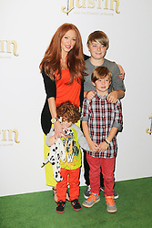 © Licensed to London News Pictures. 08/09/2013, UK. Natasha Hamilton, Justin And The Knights of Valour UK film premiere, The May Fair Hotel, London UK, 08 September 2013. Photo credit : Richard Goldschmidt/Piqtured/LNP