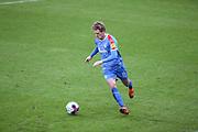 Fussball: 2. Bundesliga, FC St. Pauli - Holstein Kiel, Hamburg, 09.01.2021<br /> Johannes van den Bergh (Kiel)<br /> © Torsten Helmke