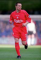 Nick Barmby (Liverpool) Chelsea v Liverpool, F.A.Carling Premiership, 1/10/2000. Credit Colorsport / Nick Kidd.