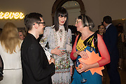 ERDEM MORALIOGLU; ERIN O'CONNOR; PHILIPPA PERRY, Royal Academy Summer exhibition party. Piccadilly. 7 June 2016