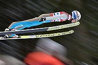 Hopp , BAD MITTERNDORF,AUSTRIA,15.JAN.16 - NORDIC SKIING, SKI JUMPING, SKI FLYING - FIS World Championships, Kulm, men. Image shows  Kenneth Gangnes (NOR).<br /> Norway only
