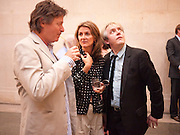 DANNY MOHNIHAN: TIGGY MACONOCHIE; NICK RHODES, Tate Summer Party. Celebrating the opening of the  Fiona Banner. Harrier and Jaguar. Tate Britain. Annual Duveens Commission 29 June 2010. -DO NOT ARCHIVE-© Copyright Photograph by Dafydd Jones. 248 Clapham Rd. London SW9 0PZ. Tel 0207 820 0771. www.dafjones.com.