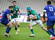 Tadhg Beirne of Ireland during the Guinness Six Nations 2020, rugby union match between France and Ireland on October 31, 2020 at Stade de France in Saint-Denis near Paris, France - Photo Jean Catuffe / ProSportsImages / DPPI