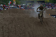 Tommy Searle overheats another clutch.