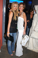 Left to right, models SAM ROWLEY and JASMINE LENNARD and model at a party to celebrate the opening of the Absolut Icebar London, 134 Heddon Street, London on 29th September 2005.<br /><br />NON EXCLUSIVE - WORLD RIGHTS