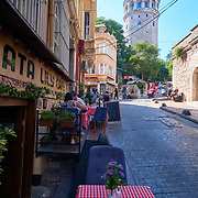 Galata Lily Cafe near Galata tower, Istanbul