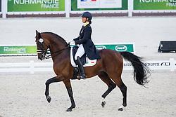 Federica Scolari, (ITA), Beldonwelt - Grand Prix Team Competition Dressage - Alltech FEI World Equestrian Games™ 2014 - Normandy, France.<br /> © Hippo Foto Team - Leanjo de Koster<br /> 25/06/14