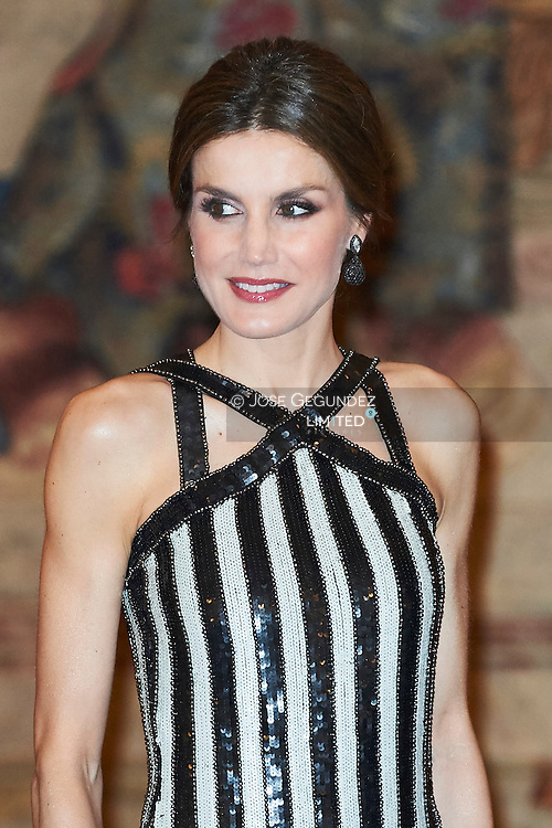 Queen Letizia of Spain host a reception at the El Pardo Palace on February 23, 2017 in Madrid, Spain