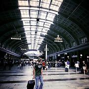 Stockholm central train station, Stockholm, Sweden (August 2006)