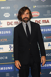 December 3, 2018 - Milan, Italy - Andrea Pirlo at 'Oscar Del Calcio AIC' Italian Football Awards photocall in Milano, Italy, on December 03 2018  (Credit Image: © Mairo Cinquetti/NurPhoto via ZUMA Press)
