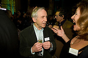 andrew sachs; carol drinkwater, Orion Publishing Group Author Party. V & A. London. 18 February 2009.  *** Local Caption *** -DO NOT ARCHIVE -Copyright Photograph by Dafydd Jones. 248 Clapham Rd. London SW9 0PZ. Tel 0207 820 0771. www.dafjones.com<br /> andrew sachs; carol drinkwater, Orion Publishing Group Author Party. V & A. London. 18 February 2009.