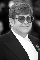 Sir Elton John arriving on the red carpet of 'Rocketman' screening held at the Palais Des Festivals in Cannes, France on May 16, 2019 as part of the 72th Cannes Film Festival. Photo by Nicolas Genin/ABACAPRESS.COM