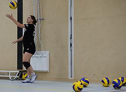 29-10-2014 NED: Selectie Prima Donna Kaas Huizen vrouwen, Huizen<br /> Selectie seizoen 2014-2015 / Petra Siebers