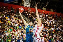 Blaz Mesicek of Slovenia during friendly basketball match between Slovenia and Croatia , on September 8, 2018 in Arena Zlatorog, Celje, Slovenia. Photo by Ziga Zupan / Sportida