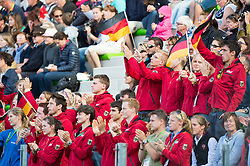 Supporter, GER - Jumping Eventing - Alltech FEI World Equestrian Games™ 2014 - Normandy, France.<br /> © Hippo Foto Team - Jon Stroud<br /> 31-08-14