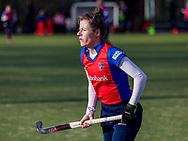 BILTHOVEN -  Hoofdklasse competitiewedstrijd dames, SCHC v hdm, seizoen 2020-2021.<br /> Foto: Fabiënne Roosen (SCHC)