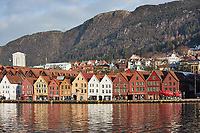 Historic Bergen from across the harbor. Three of seven images taken with a Nikon 1 V2 camera and 10-30 mm lens(ISO 200, 30 mm, f/5.6, 1/1000 sec).