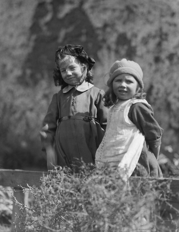 Bavarian Girls, Germany, 1921