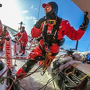 Leg 3, Cape Town to Melbourne, day 03, DCIM\100GOPRO\G0033442.JPG on board MAPFRE. Photo by Jen Edney/Volvo Ocean Race. 14 December, 2017.