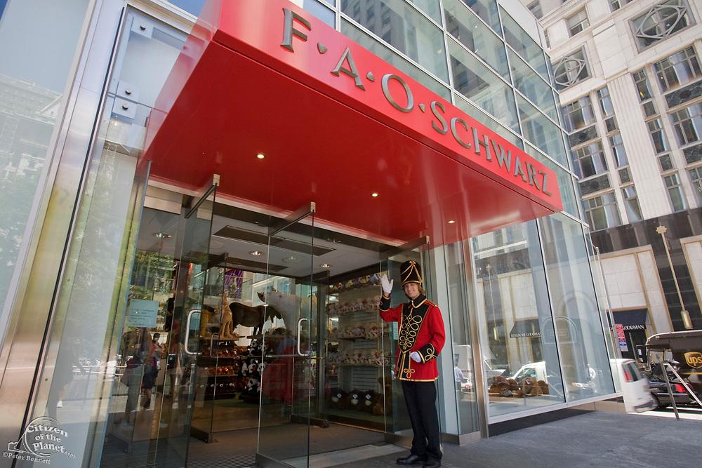 FAO Schwarz closed its dorrs in 2015, 5th Avenue, Manhattan, New York