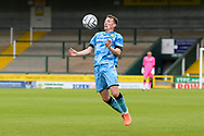 Regan Hendry (21) of Forest Green Rovers controls the ball during the Pre-Season Friendly match between Yeovil Town and Forest Green Rovers at Huish Park, Yeovil, England on 31 July 2021.