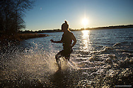 20170101, Sunday, January 1, 2017, 8th-ish Annual ECPC Pirate Plunge 2017 at Lake Nippenicket in Bridgewater Mass. on Sunday January 1, 2017. Event details: This is where you become a true member of the East Coast Pirate Crew! Take a deep breath, plunge, come out fresh as a pirate can be!<br /> ( 2017 © lightchaser photography images by j kiely jr )