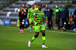 Ebou Adams of Forest Green Rovers- Mandatory by-line: Nizaam Jones/JMP - 17/10/2020 - FOOTBALL - innocent New Lawn Stadium - Nailsworth, England - Forest Green Rovers v Stevenage - Sky Bet League Two