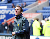 Photo: Chris Ratcliffe.<br />Leicester City v Norwich City. Coca Cola Championship. 31/12/2005.<br />Dean Ashton looks to the Premiership? Here he is warming up with Norwich.