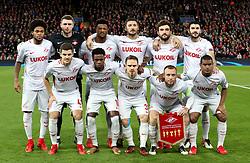 A Spartak Moscow team group photo