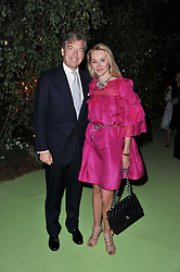 CHARLES & AGNIESZKA BUTTER at a dinner hosted by Cartier in celebration of the Chelsea Flower Show held at Battersea Power Station, 188 Kirtling Street, London SW8 on 23rd May 2011.