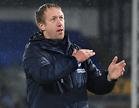 Football - 2019 / 2020 Premier League - Crystal Palace vs. Brighton & Hove Albion<br /> <br /> Brighton manager, Graham Potter after the match, at Selhurst Park.<br /> <br /> COLORSPORT/ANDREW COWIE