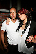 Johnny Nunez and Nina Skyy at the Eclectic Ride Offiicial Re-launch with performances by Emily King and Bilal at Drom on May 6, 2008..Known as the premier pillar of the eclectic soul scene, The Eclectic Ride promises to supersede its legacy starting not only with this week?s headliners but within its first month featuring Dj Cassidy, Ryan Leslie, Estelle, O?Neill McKnight and many other mega-watt performers every Tuesday  throughout summer evenings and months to come.. .The ER will also integrate web 2.0 inter-activity into its mix and bring the experience to computers worldwide with live tapings of every show that can be accessed by fans via The Eclectic Ride site and iTunes to enjoy their favorite Ride performers.