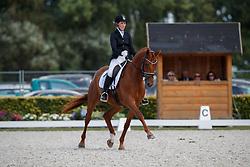 Tornvik Silje, NOR, Maros Faberge<br /> Longines FEI/WBFSH World Breeding Dressage Championships for Young Horses - Ermelo 2017<br /> © Hippo Foto - Dirk Caremans<br /> 04/08/2017