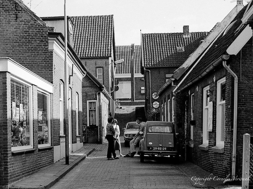 De Kleine straat.