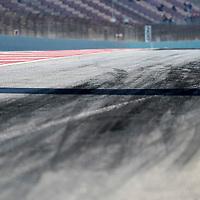 19.02.2020, Circuit de Catalunya, Barcelona, Formel 1 Testfahrten 2020 in Barcelona<br /> , im Bild<br />Reifenabrieb der Pirellireifen<br /> <br /> Foto © nordphoto / Bratic