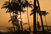 Sunset, Poipu,Kauai, Hawaii<br />