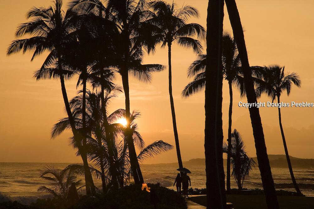 Sunset, Poipu,Kauai, Hawaii<br />