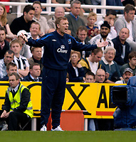 Photo: Jed Wee.<br /> Newcastle United v Everton. The Barclays Premiership. 24/09/2006.<br /> <br /> Everton manager David Moyes.