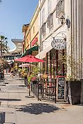 Walking Downtown Brea on Birch Street
