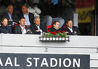 Fotball , 26. juni 2013 ,  ,4. runde NM cup herrer <br /> Vålerenga -  3-1<br /> På tribunen Niels Røine NTF, Bjarne Berntsen NTF , Pål Breen VIF og STIG-OVE SANDNES (VIF