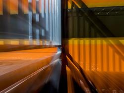 United States, Washington, Snoqualmie, Northwest Railway Museum (blurred motion)
