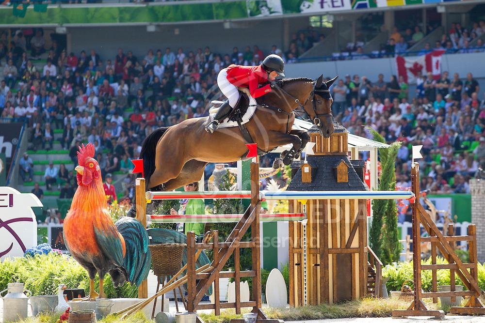 Emma Augier De Moussac, (CZE), Danthe RDPS - First Round Team Competition Jumping Speed - Alltech FEI World Equestrian Games™ 2014 - Normandy, France.<br /> © Hippo Foto Team - Leanjo De Koster<br /> 03-09-14
