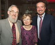 Repro free: At the Gorta Self Help Africa annual Ball at hotel Meyrick, Galway were Marie and David Lohan Salthill with Ray Jordan Gorta Self Help Africa . Photo:Andrew Downes
