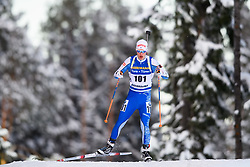 March 9, 2019 - –Stersund, Sweden - 190309 Tuomas Gronman of Finland competes in the Men's 10 KM sprint during the IBU World Championships Biathlon on March 9, 2019 in Östersund..Photo: Petter Arvidson / BILDBYRÃ…N / kod PA / 92252 (Credit Image: © Petter Arvidson/Bildbyran via ZUMA Press)