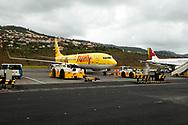 08-12-2015 -  Foto van Madeira Airport. Genomen tijdens een golfreis naar de Madeira Islands bij Madeira Airport in Funchal, Portugal.