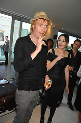 Actor RHYS IFANS at a party to celebrate the publication of 'All That Glitters' by Pearl Lowe held at the May Fair Hotel, London on 8th July 2007.<br />