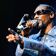 Columbia, MD - August 30th, 2010:  Billed as performing his debut album Doggy Style in its entirety, Snoop instead played a shortened 45 minute set that drew from all points of his career. (Photo by Kyle Gustafson/For The Washington Post)