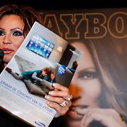 NLD/Amsterdam/20121206 - Onthulling Playboy Tatjana Simic kalender,