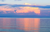 Summer storm clouds over the Chesapeake Bay, near Annapolis, Maryland USA.